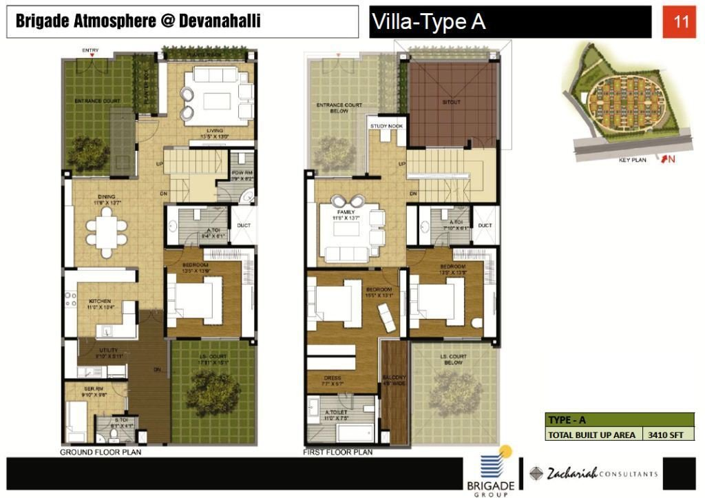 4 BHK Villa Type A Brigade Atmosphere Property First