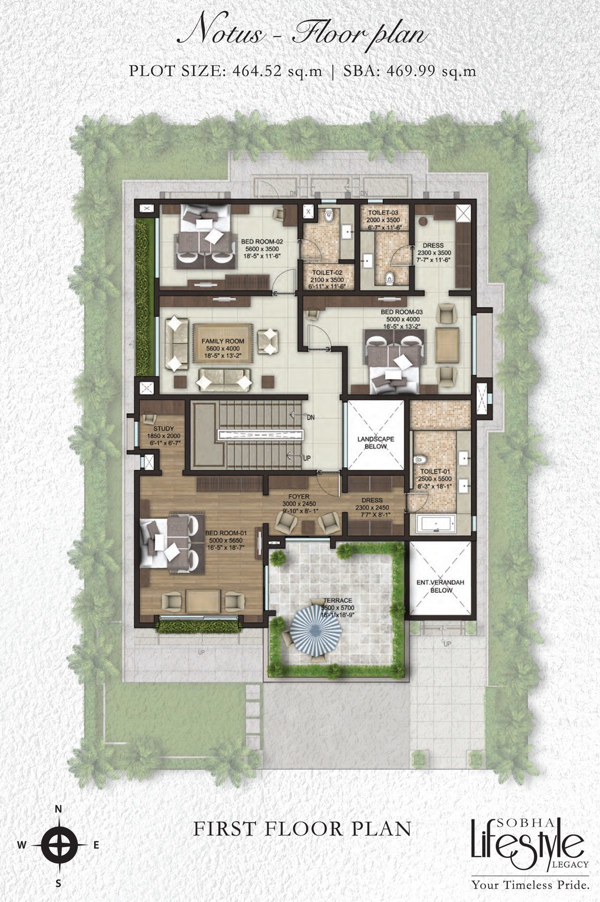 sobha lifestyle first floor plan property first