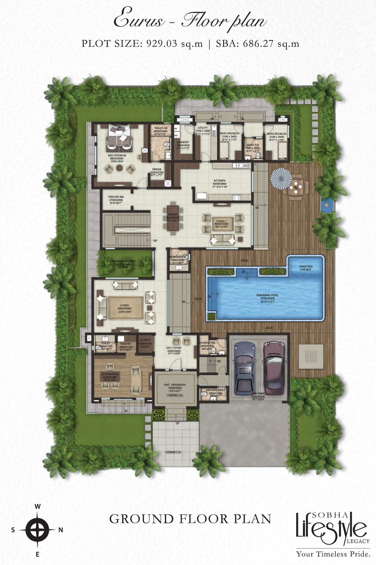 Sobha Lifestyle villa Plans Property First